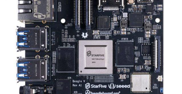 BeagleV, una potente placa con CPU RISC-V compatible con Linux