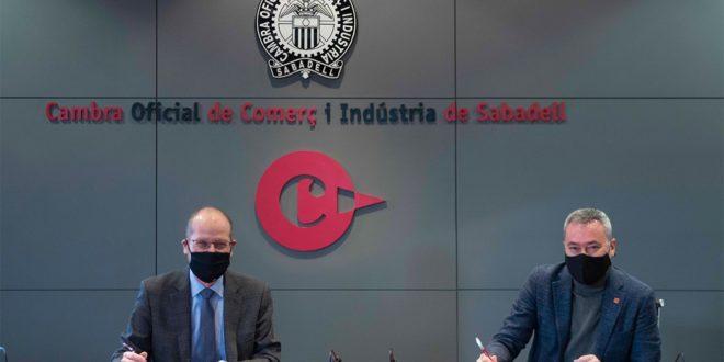 Ekon y la Cámara de Sabadell apuesta por seguir fomentando la internacionalización y la digitalización de las empresas locales