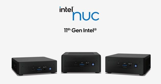 Intel presenta los mini PC NUC 11 con Tiger Lake
