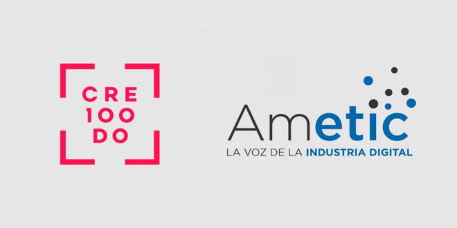 Cre100do y Ametic se unen para fomentar la digitalización y las empresas del 'middle market' español