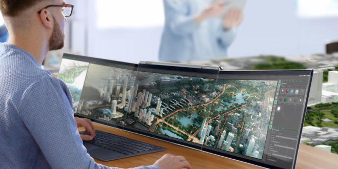 Compal Airttach: un portátil con tres pantallas extraíbles
