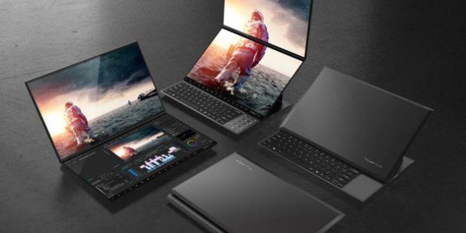 Compal Envision Duo y Envison Pro, dos portátiles impresionantes con doble pantalla