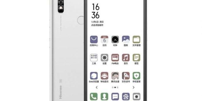 El Hisense A7 CC ya está disponible a nivel global: un smartphone con tinta electrónica
