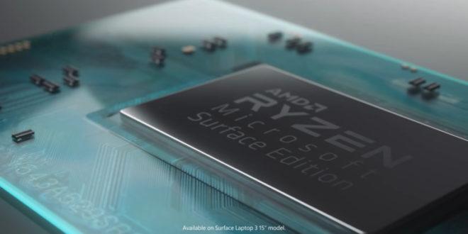 Surface Laptop 4 utilizará APUs Ryzen serie 4000
