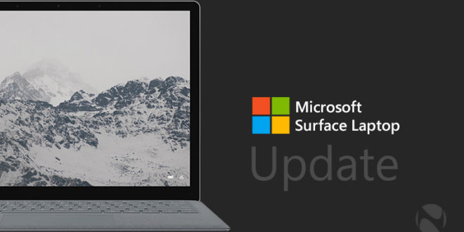 actualizaciones de firmware y drivers para Surface Laptop 1 y 2