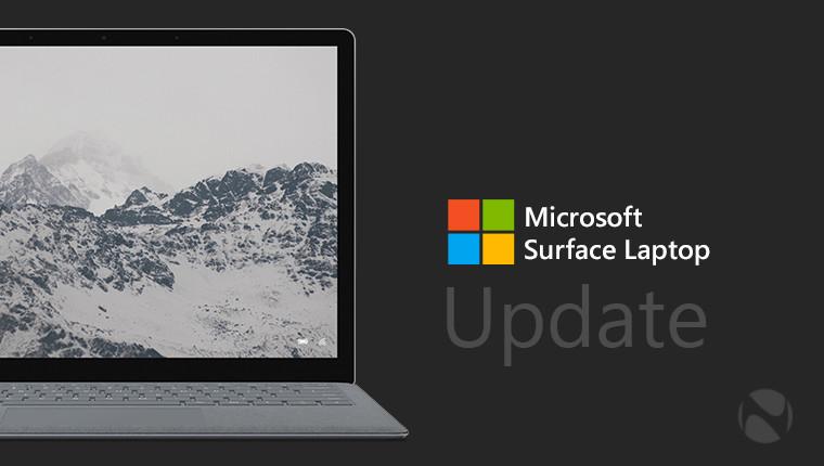 actualizaciones de firmware y drivers para Surface Laptop 1 y 2