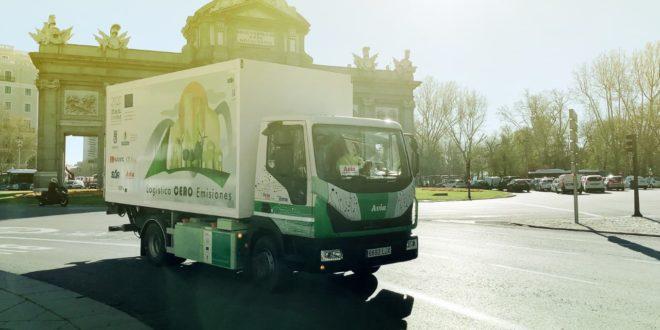 El primer camión eléctrico 100% fabricado y desarrollado en España ya ha empezado sus primeras pruebas