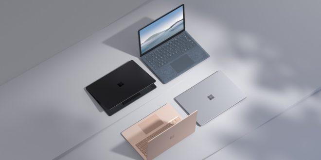 Microsoft presenta el Surface Laptop 4 para empresas