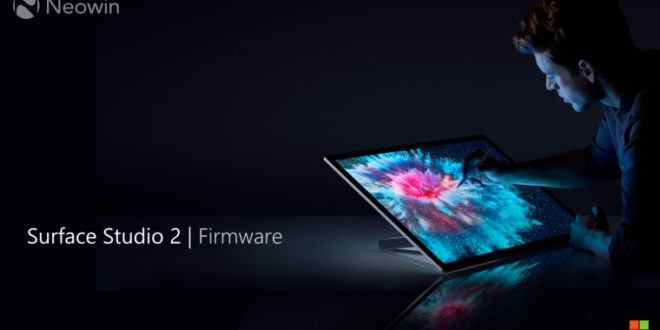 Microsoft libera nuevo firmware para el Surface Studio 2