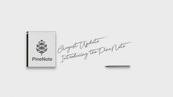 PineNote E Ink