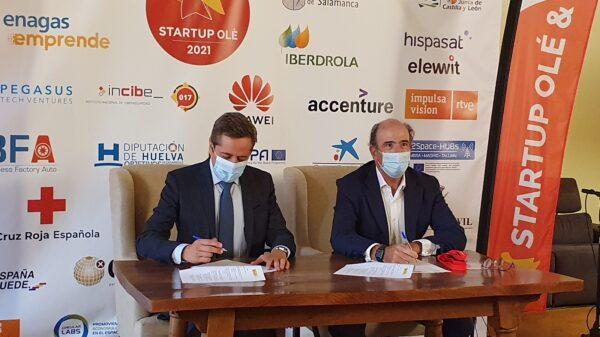 Firma acuerdo ENISA Enagás